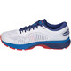 asics Gel-Kayano 25 Shoes Men White/Blue Print